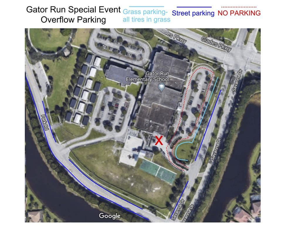 Gator Run Parking