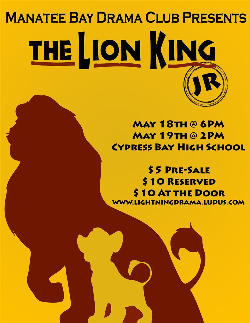 The Lion King Production by MBE Drama Students