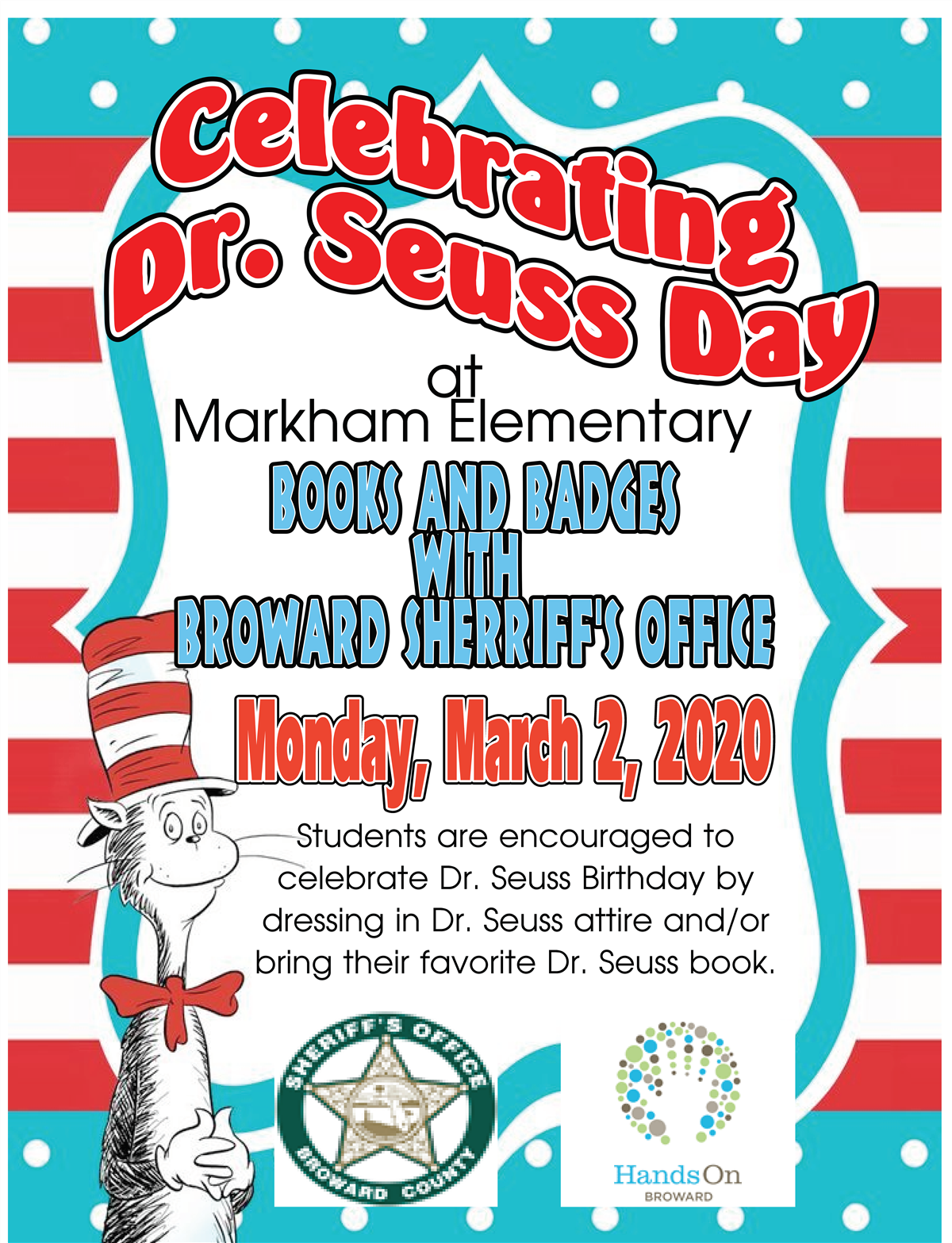 Dr. Suess Day Flyer