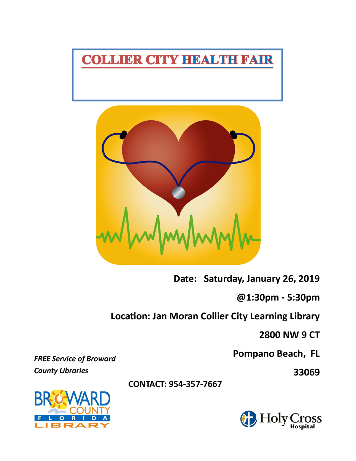 COLLIER CITY HEALTH FAIR
