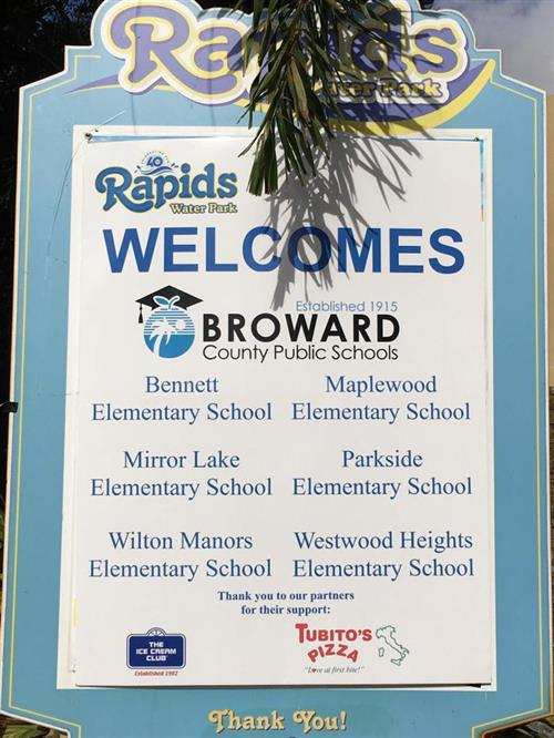 MLE Visits Rapids Water Park - Different Ways To Promote Inclusion.