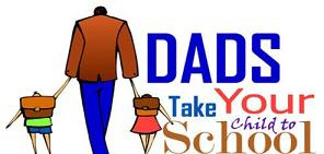 DAD Walk Your Child To School Day