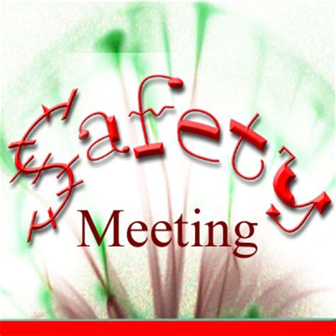 NHE Quarterly Community Safety Meeting