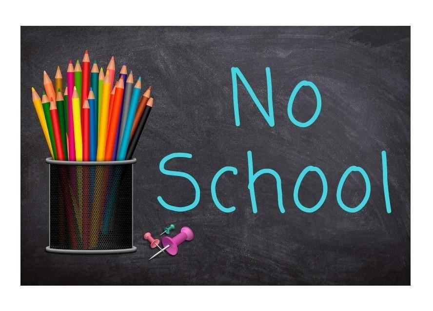 Friday October 18, 2019 - No School for Students