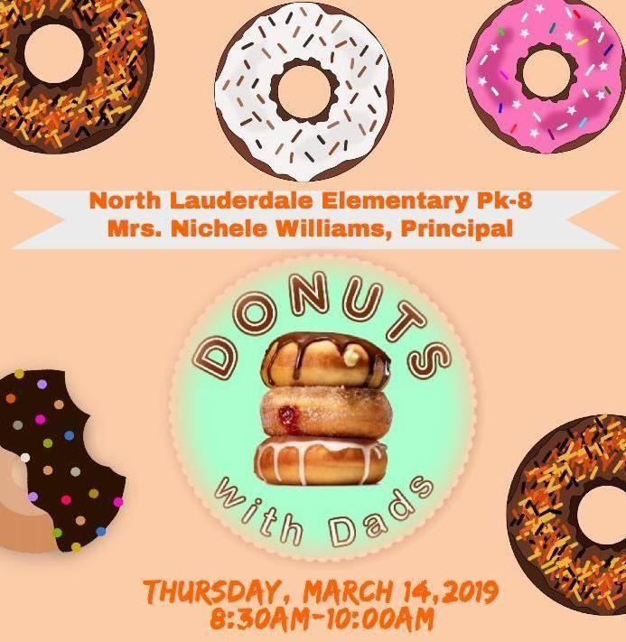 Donuts with Dads - Thursday, March 14