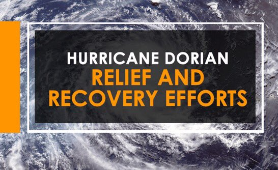 Hurricane Dorian Relief and Recovery Efforts