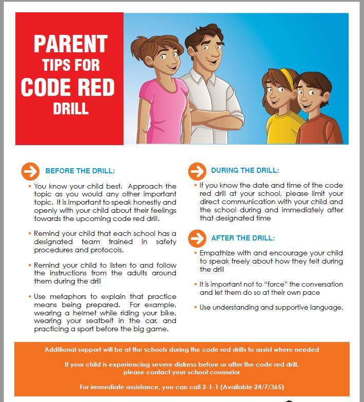Code Red Information
