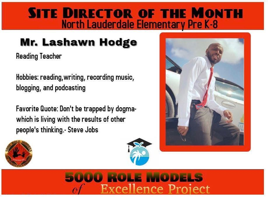 Site Director of the Month