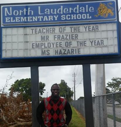 Our Teacher of the Year!