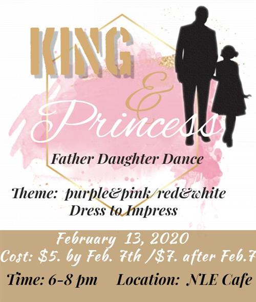 King & Princess Father Daughter Dance