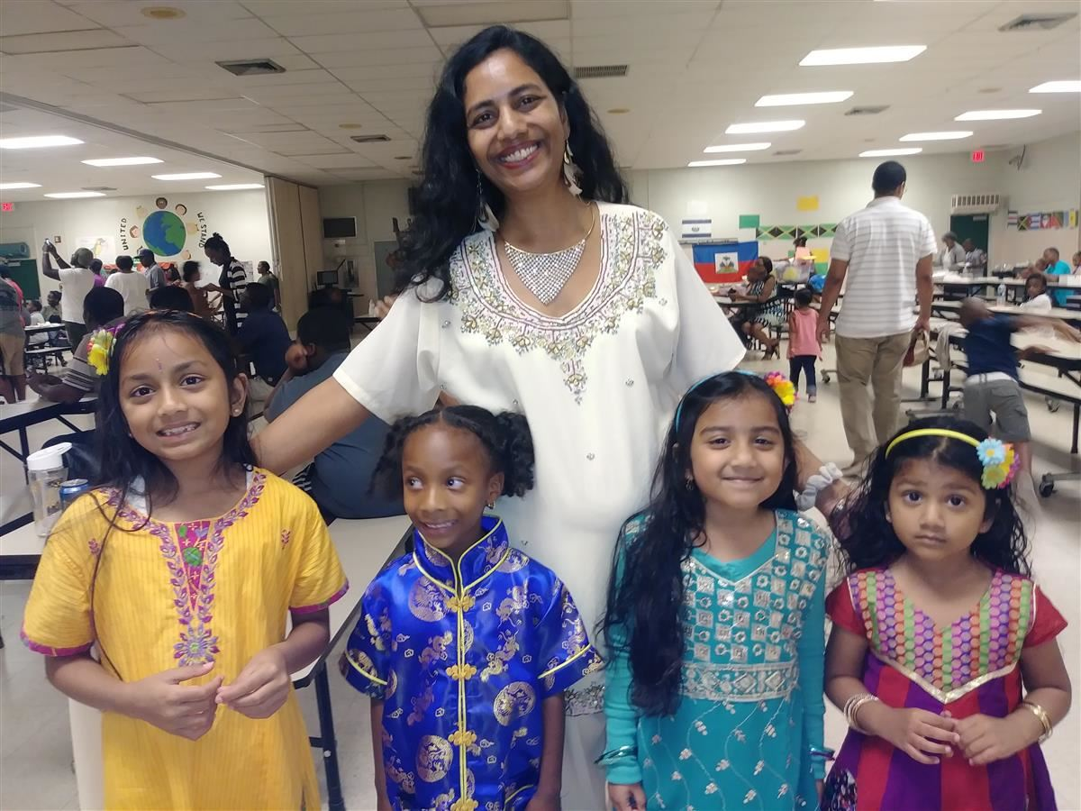 Celebrating Multicultural Night!
