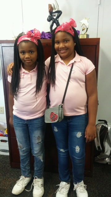 Pink Twin Day