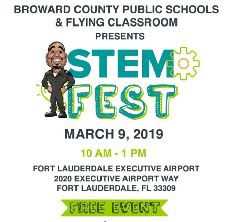 StemFest - March 9, 2019 - See you there!
