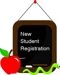Image of New Registration with apple