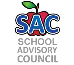 School Advisory Council Logo with Apple