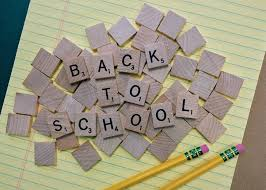 Image of blocks with back to school