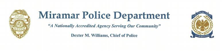 Miramar Police Letter To Parents