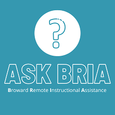 Ask BRIA!  Need Assistance with School Work?