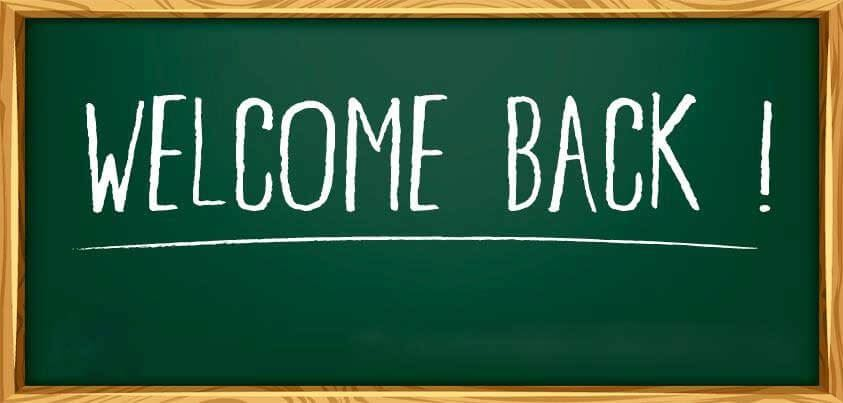 Welcome Back Parents!