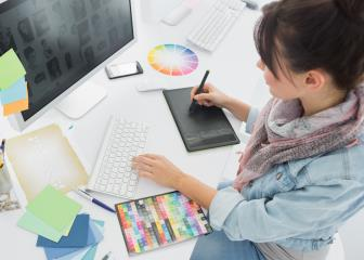 "<font color=""3361ff"">Featured Career of the Week:  Graphic Designer (10/2/2017-10/8/2017)</font>"