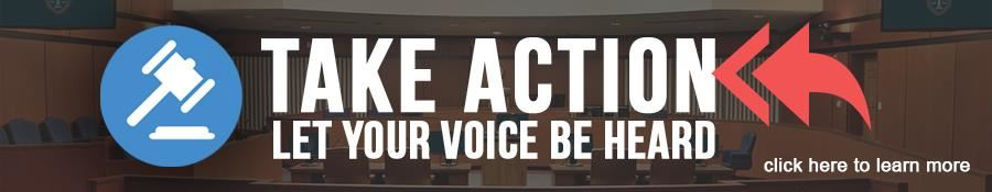Take Action, Let Your Voice be Heard