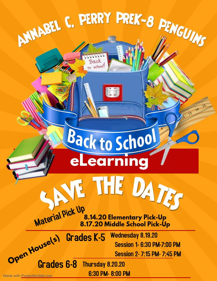 Back to School eLearning: Save The Dates