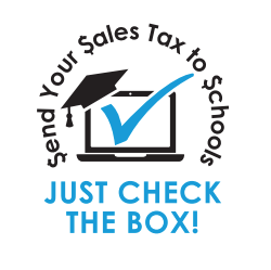 Send Your Sales Tax to schools (Information Flyer)