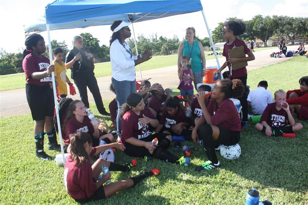 AMS Eagles  Soccer Teams Hosts Their First Game