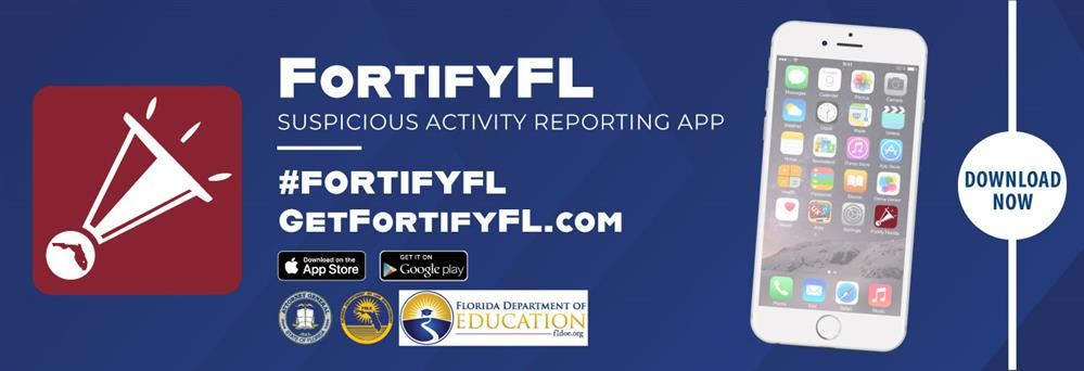 FortifyFL mobile suspicious activity reporting app