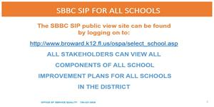 District SIP Plan Link