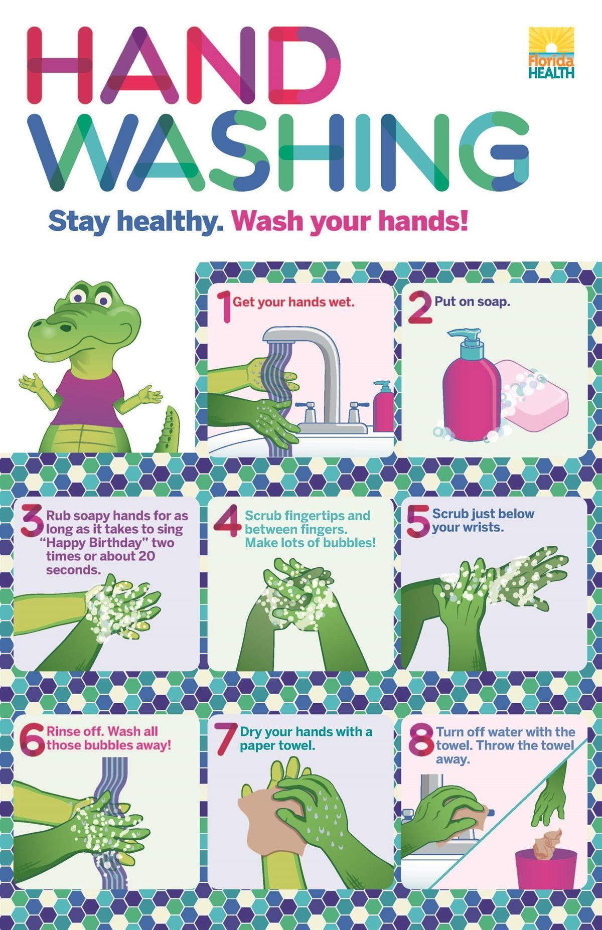 Learn more about hand washing