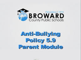 Important information regarding BCPS Anti-Bullying Policy