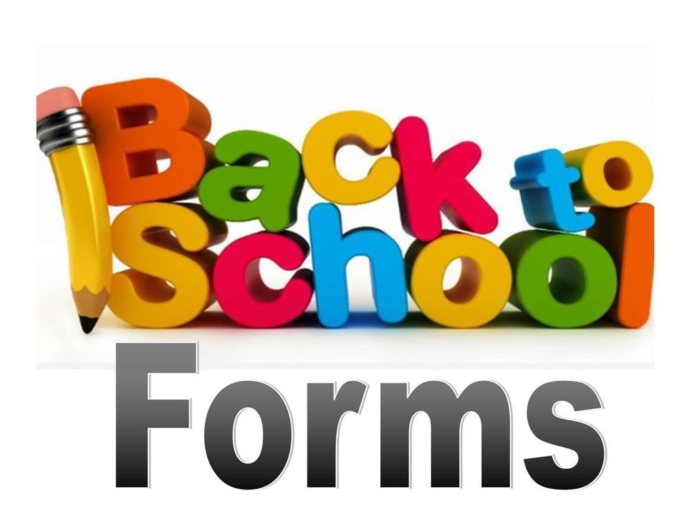 Please Complete the Back to School Forms Online