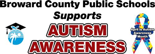 BCPS Support Autism Awareness