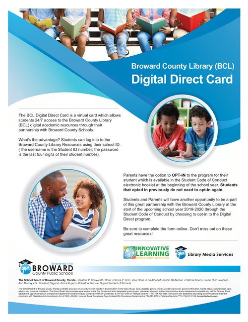 Digital Direct Card Flyer