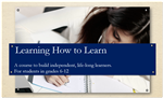 Learning How to Learn Course