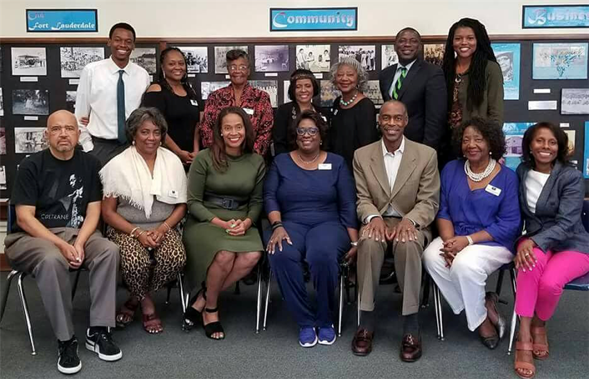 Old Dillard Foundation Board with Robert Runcie and Tracy Clark