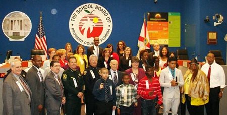BCPS Sign Collaborative Agreement on School Discipline