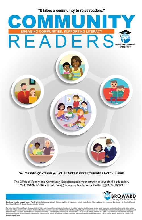 Community Readers Flyer