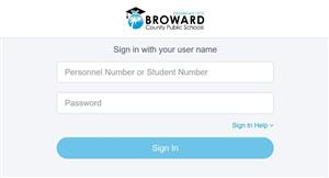 broward single sign on Single Sign-On Information / Welcome