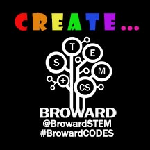 CREATE sticker from Broward STEM+CS