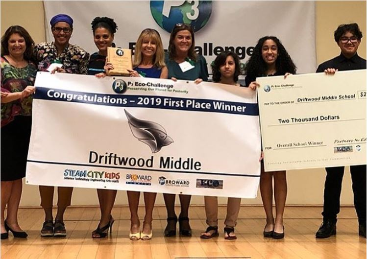 Driftwood Middle School First Place Winner