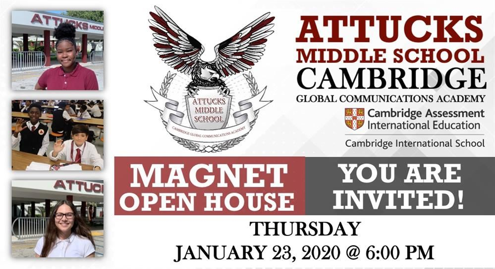 2020 Magnet Open House Flyer