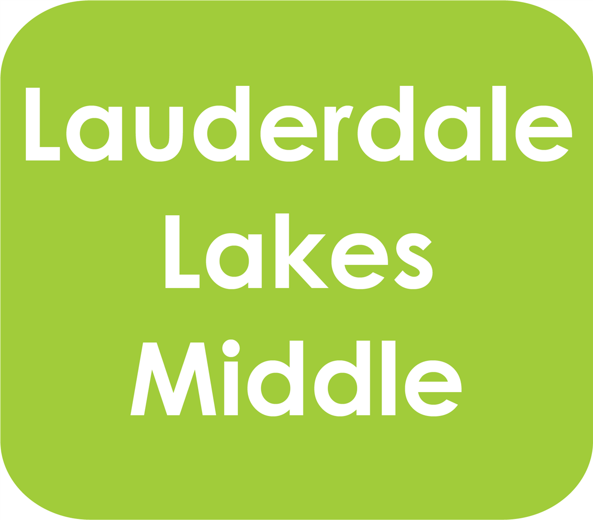 Lauderdale Lakes Middle