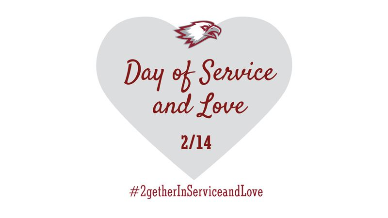 Heart graphic - day of service