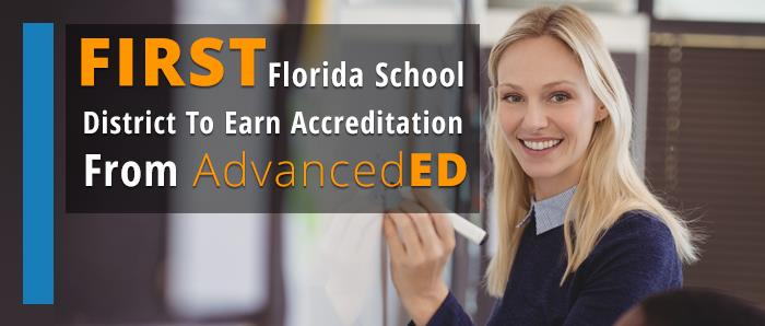 First Florida School District to Earn Accreditation From AdvancedED