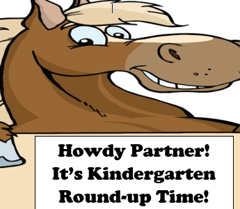It's Kindergarten Round-up Time!