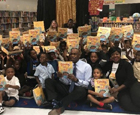 BCPS Honored as Jumpstart's Read for the Record District of the Year