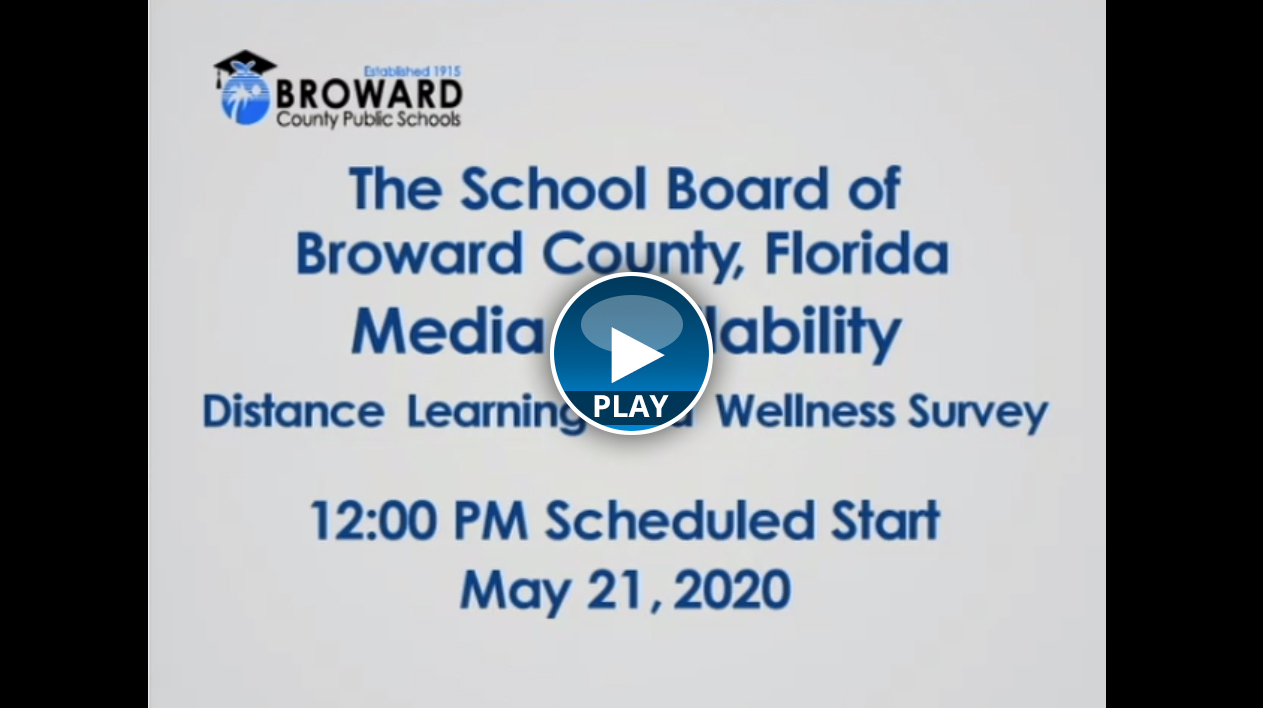 BCPS to Share Initial Findings of Distance Learning and Wellness Survey