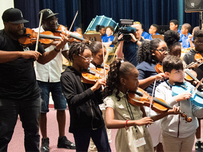 BCPS Turnaround Arts Program Students to Perform on Stage with Black Violin